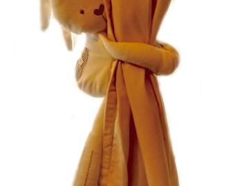 SALE ****Floppy eared, dangly bunny tieback