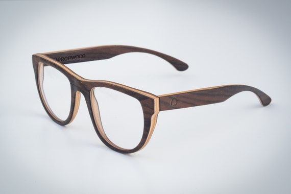 wooden reading glasses handmade wood eyewear rx wooden by