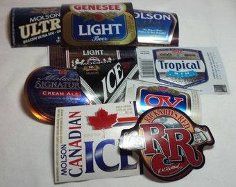Beer Labels Vintage Lot of 10 Beer Unused Labels Assorted