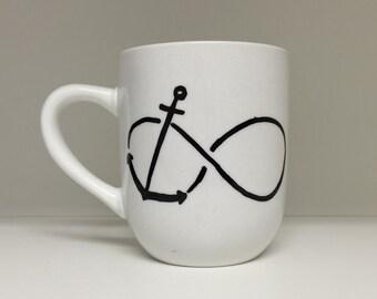 Infinity Anchor mug