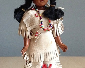 Native American Indian Trading Post Souvenir Doll 1958