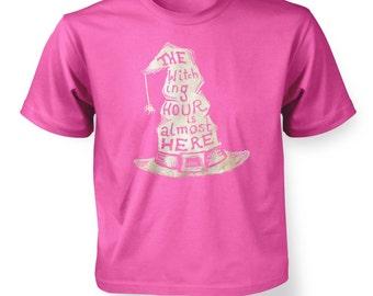 Beige Witching Hour Hat kids t-shirt