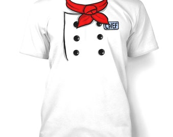 Chef Costume mens t-shirt