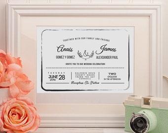 Wedding Card Invitations
