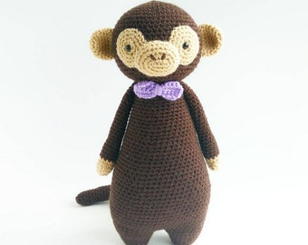 Crochet Amigurumi Pattern - Monkey