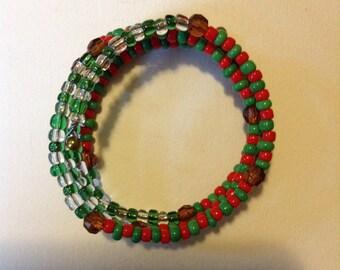 Hand-made Fashion Seed Beed Bracelet