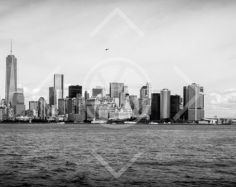 New York City Skyline, Lower Manhattan, USA