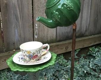 Teapot and Teacup, Garden Decor