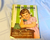 1944 Good Housekeeping October Magazine - Calling Grandma - Vintage Good Housekeeping Magazine