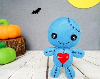 Halloween Decorations Voodoo Doll Kawaii Plush Creepy Cute Toys Halloween Party Decor Halloween Gift Baby Shower Favors Halloween Ornaments