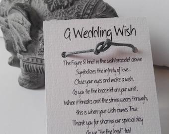 Friendship bracelets Infinity- Wedding Favors