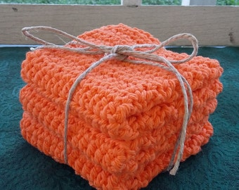 Crochet Dish cloths, Kitchen decor. Ready to ship!