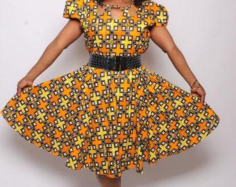 Tiyero Ankara dress