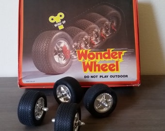 Wonder Wheel Wind Up Toy From the 70's