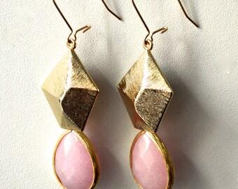 Fairy pink earrings