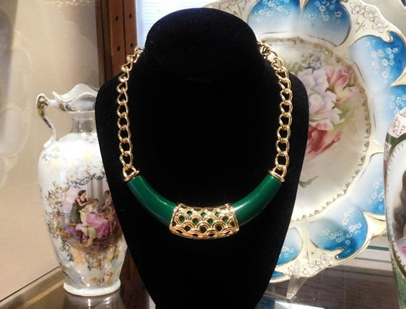 MONET Necklace / Choker / Designer Jewelry / Modernist