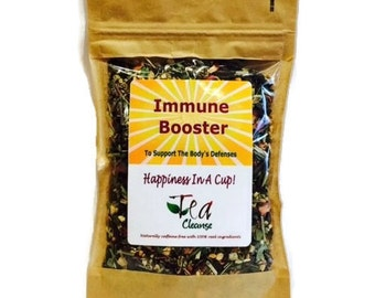Immune Booster | Herbal Tea To Support The Body's Defenses | Herbal Tea to Sip When Feeling Under The Weather | Feel Alive Again