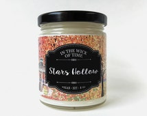 Stars Hollow   Gilmore Girls Scented Vegan Soy Candle  