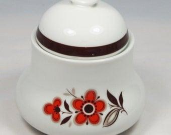Sugar bowl by Bavaria Schumann Arzberg Germany