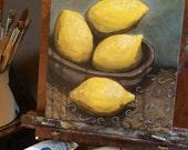 A Little Lemon Study, 201...