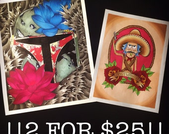 Any 2 Prints for 25