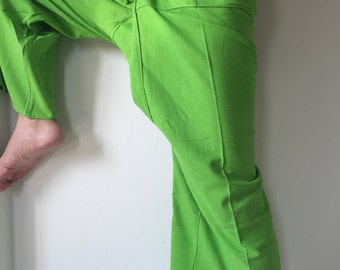 Fresh Green - Thai Fisherman Pants - 100% Cotton (With Packet)