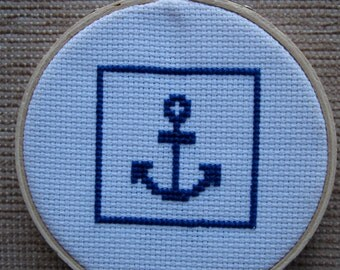 Anchor Framed Cross Stitch