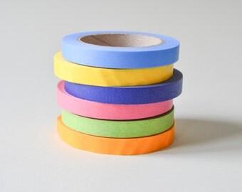 XXL Washi tape, große Rolle Reispapier, buntes Washitape T002