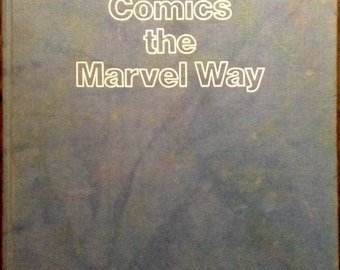 How To Draw The Marvel Way First Edition 1978 Hardcover
