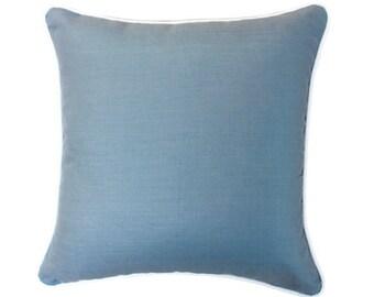 Martinique Grey Linen Cushion Cover