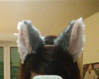 Fluffy cat ears
