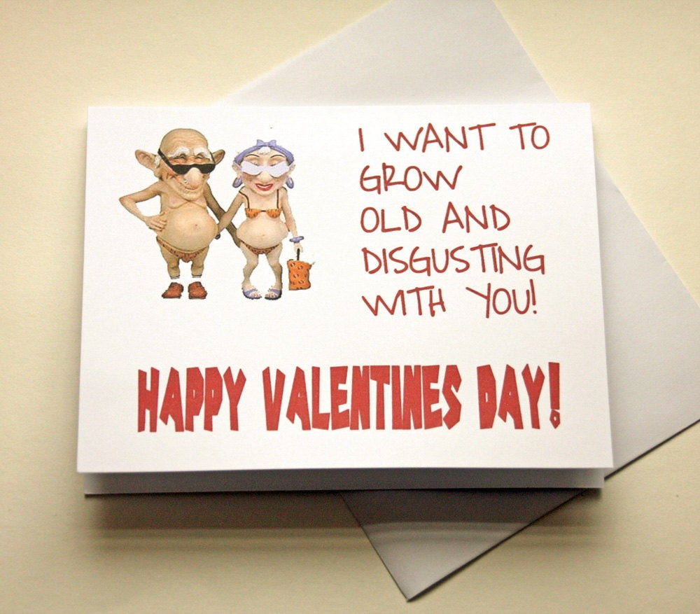 Valentines Card Naughty Card Boyfriend Gift Funny – Valentine Cards for Wife