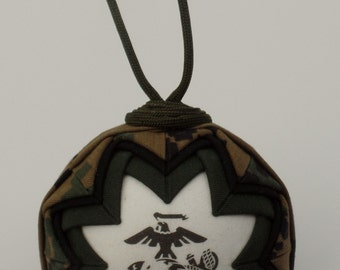 USMC Camo Marine Corp Ornament
