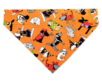 Halloween Dog Bandana - Canine Costume Parade (Large) | Dog Halloween Costume, Dog Bandanna, Dog Scarf