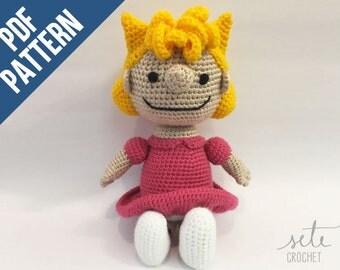 Amigurumi Crochet Pattern - Sally Brown [Peanuts]