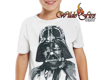 Kid's Darth Vader T Shirt (Star Wars)