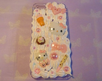 Cute Hello Kitty Decoden Phone Case IPhone 5/5s