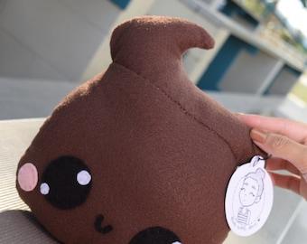 Adorable poop emoji doll/ stuffed animal poop emoji plush toy