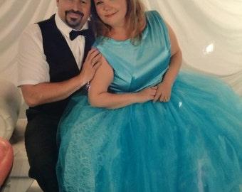 Disney Bounding Cinderella Inspired Evening Gown - Dappy Day - Vintage Inspired
