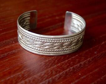 Vintage Metal Cuff Bracelet