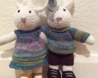 Handknitted Bunnies