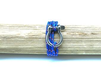 Manila marine rope bracelet