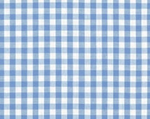"""Blue Gingham Curtains 1/4"""" - Boys Curtains - Many color options, Light Weight - Old Fashion Country Curtains - Just Darling!"""