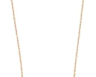 Feather Fringe Necklace