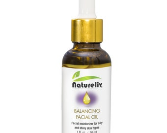 Balancing Facial Oil, Facial moisturizer for oily and shiny skin types.