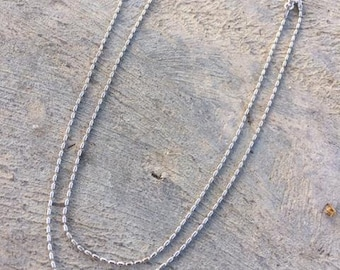 Sterling Silver .925 Chain 18 inches.