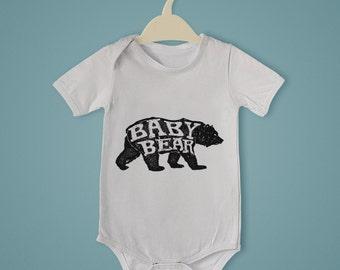 Baby Bear Onesie - Newborn Gift - Babyshower Babybear Mamabear Expecting Moms Gifts