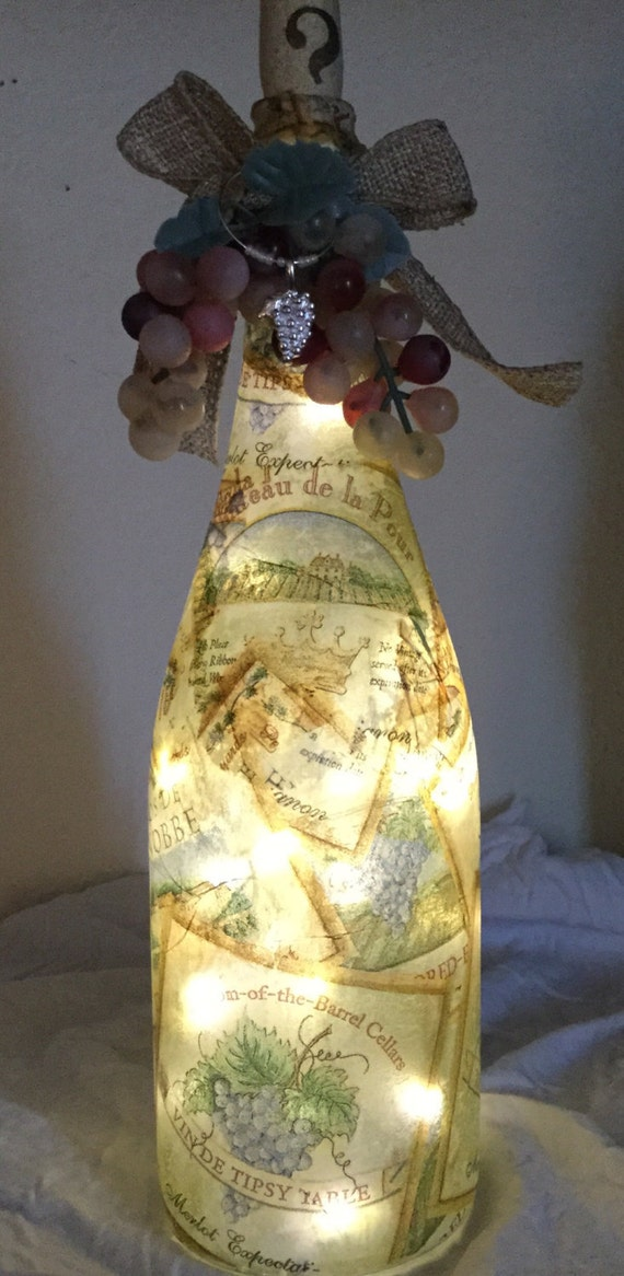 Decorative Wine Bottle Light W 36 Mini Led By Simplethingsbyd