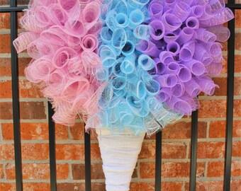 Snow Cone/ Snow Ball/ Shaved Ice Wreath