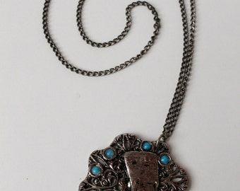 Old Egyptian Pendant Necklace